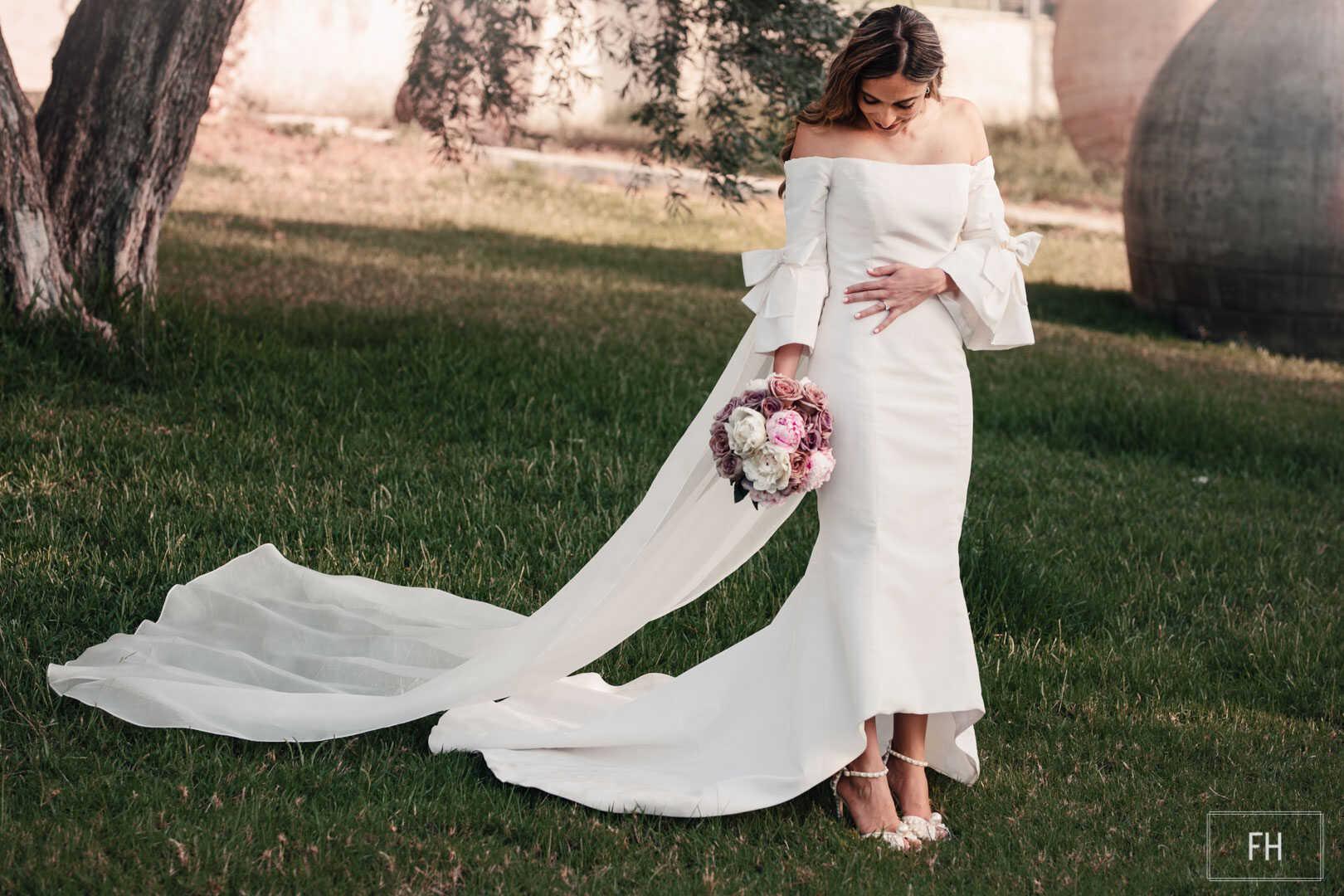 Ramo de novia-FH floristería-fernando hijo-boda-Finca Buenavista-Murcia