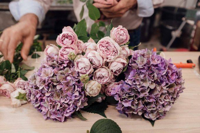 Ramo de flores elección florista
