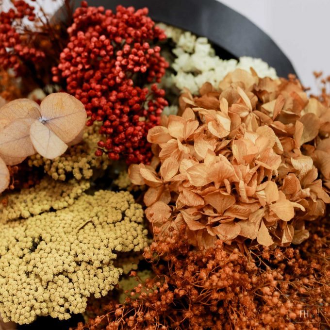 Bombonera-flores preservadas FH Floristería- Fernando hijo- Flores y decoración- Murcia
