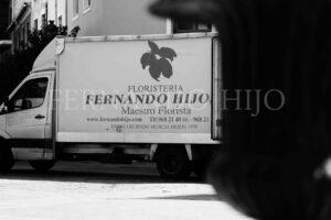 Camión FH Floristería- Fernando hijo- Flores y decoración- Murcia