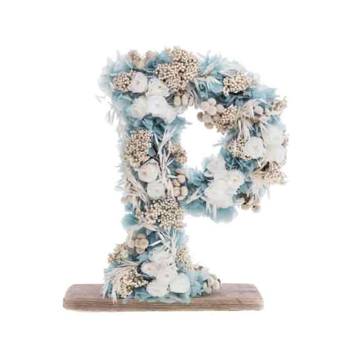 Letras-Numero-liofilizados-flores-preservadas-fh-floristeria-fernando-hijo-Murcia