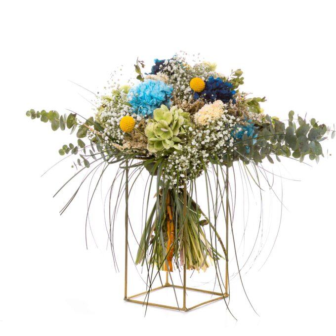 fh fernando hijo ramos de verano tienda online floristeria flores preservadas estructuras doradas murcia